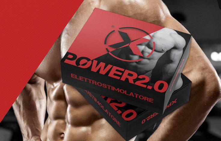 Elettrostimolatore Xpower 2.0