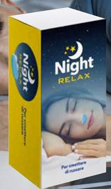 Dilatatore nasale Night Relax