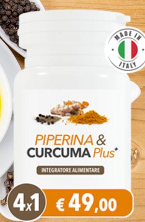 Benefici di Piperina e Curcuma Plus