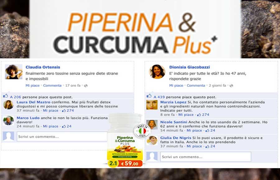 Opinioni su Piperina e Curcuma Plus