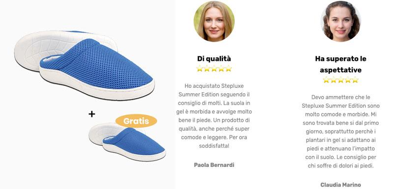 Opinioni su Step Luxe le ciabatte antifatica