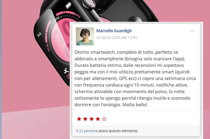 Smartwatch Xw 6.0 opinioni