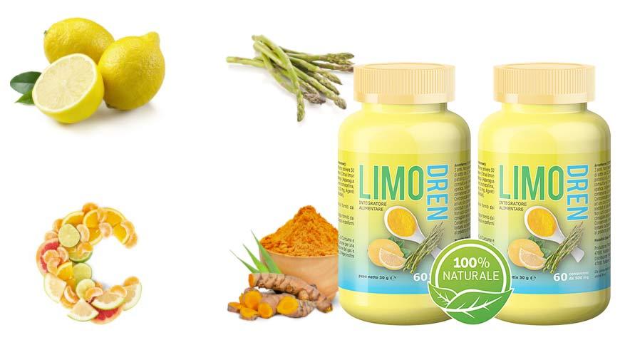 Ingredienti di Limodren