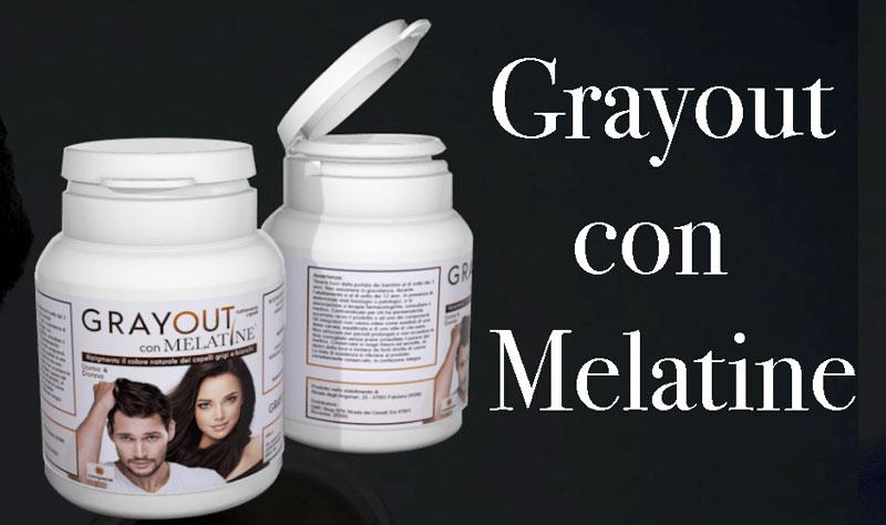 Integratore Grayout con Melatine
