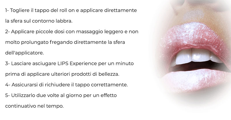 Come applicare Lips Experience
