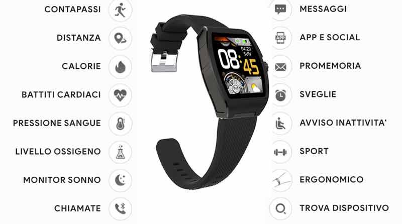 Funzioni di Alpha Smartwatch