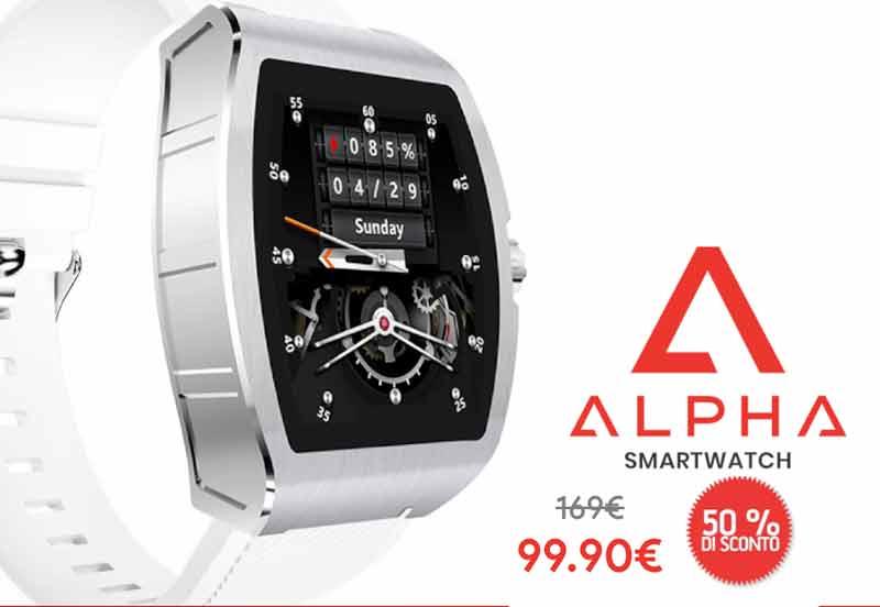 Prezzo di Alpha Smartwatch