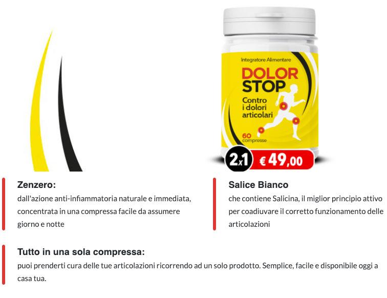 Ingredienti di DolorStop