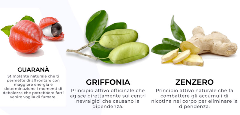Ingredienti di No Smoke
