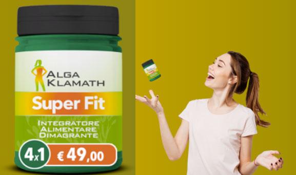 Alga Klamath Super Fit integratore
