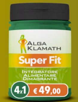 Alga-Klamath Super Fit per dimagrire