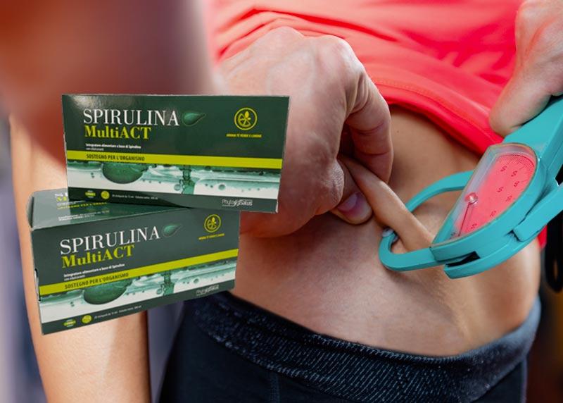 Benefici di Spirulina Multi Act