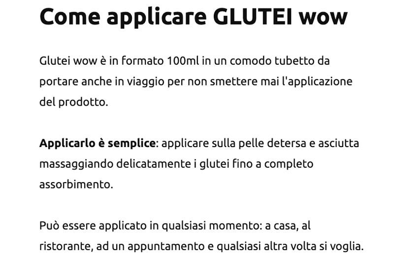 Come applicare Glutei Wow