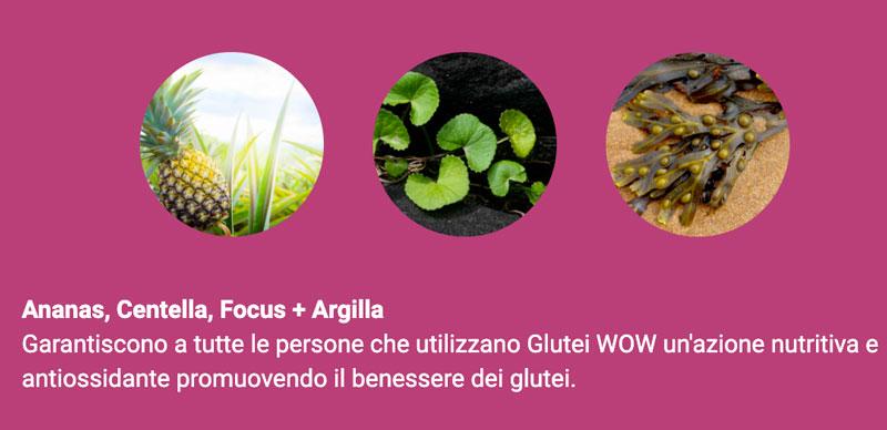Ingredienti di Glutei Wow