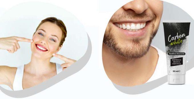 Dentifricio Carbon White: Funziona davvero per sbiancare i denti o è una truffa? Recensione con opinioni