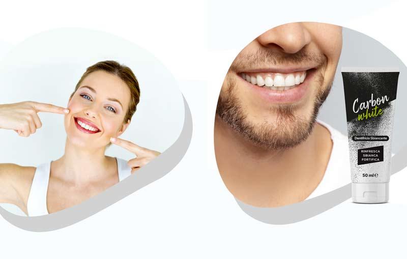 Dentifricio Carbon White