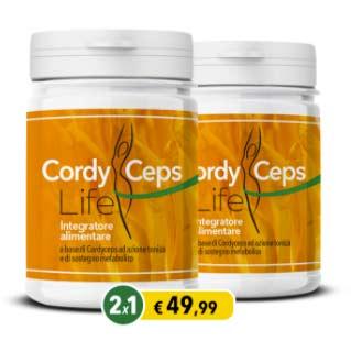 Integratore CordyCeps Life