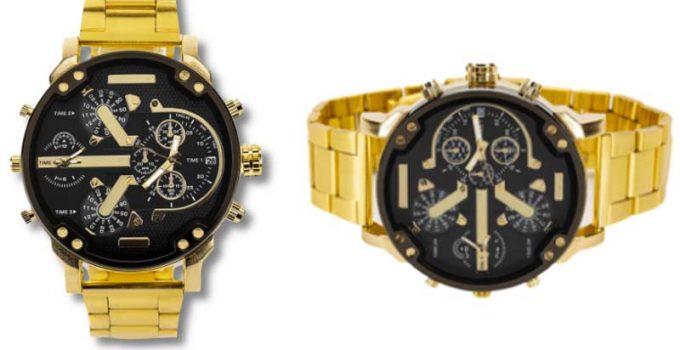 Recensione di Golden Watch orologio dorato da uomo: È una truffa? Opinioni dei clienti e il prezzo