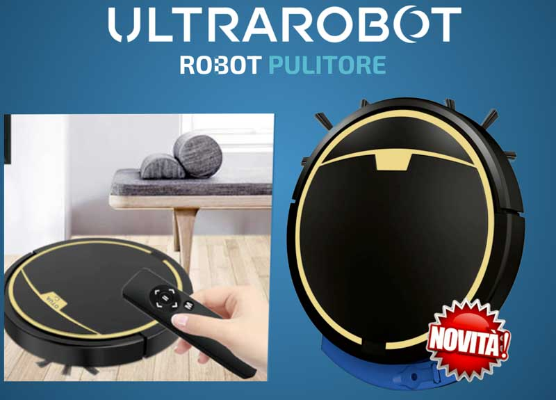 robot aspirapolvere Ultrarobot