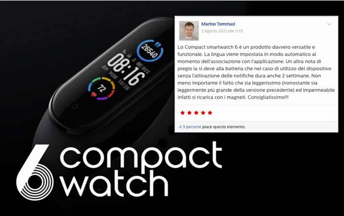 Opinioni su 6 CompactWatch