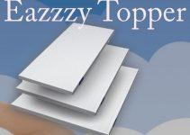 Eazzzy Topper sovramaterasso in memory foam: Recensione con opinioni dei clienti e il prezzo