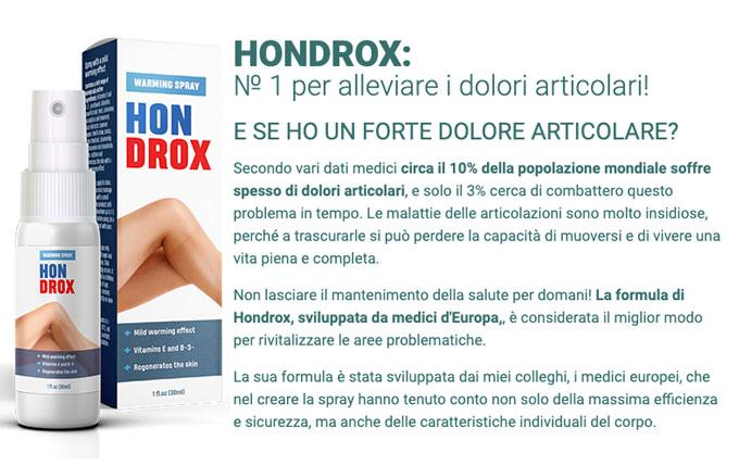come funziona Hondrox